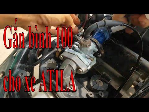 HƯỚNG DẪN chế bình xăng con Dream cho xe Atila chi tiết 2020 Chạy hết uống xăng.