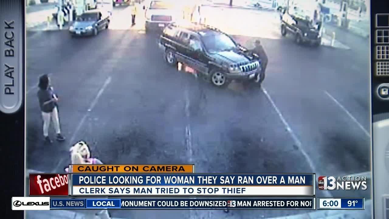 Clerk watches as Good Samaritan is run over by store thief
