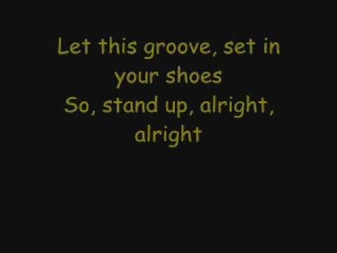 Earth wind fire let39s groove lyrics on screen for Get off the floor lyrics