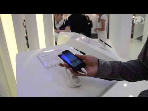 Huawei Ascend G330 - Hands-On - IFA 2012 - androidnext.de