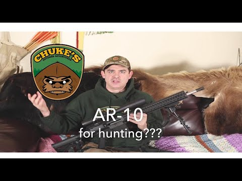 Why I Hunt With A 308 AR10 In Alaska