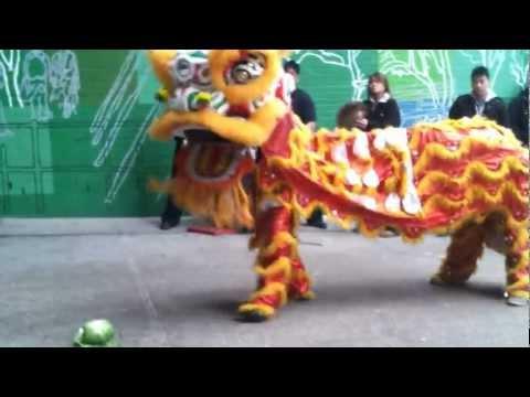 Lion Dance at M.S. 131