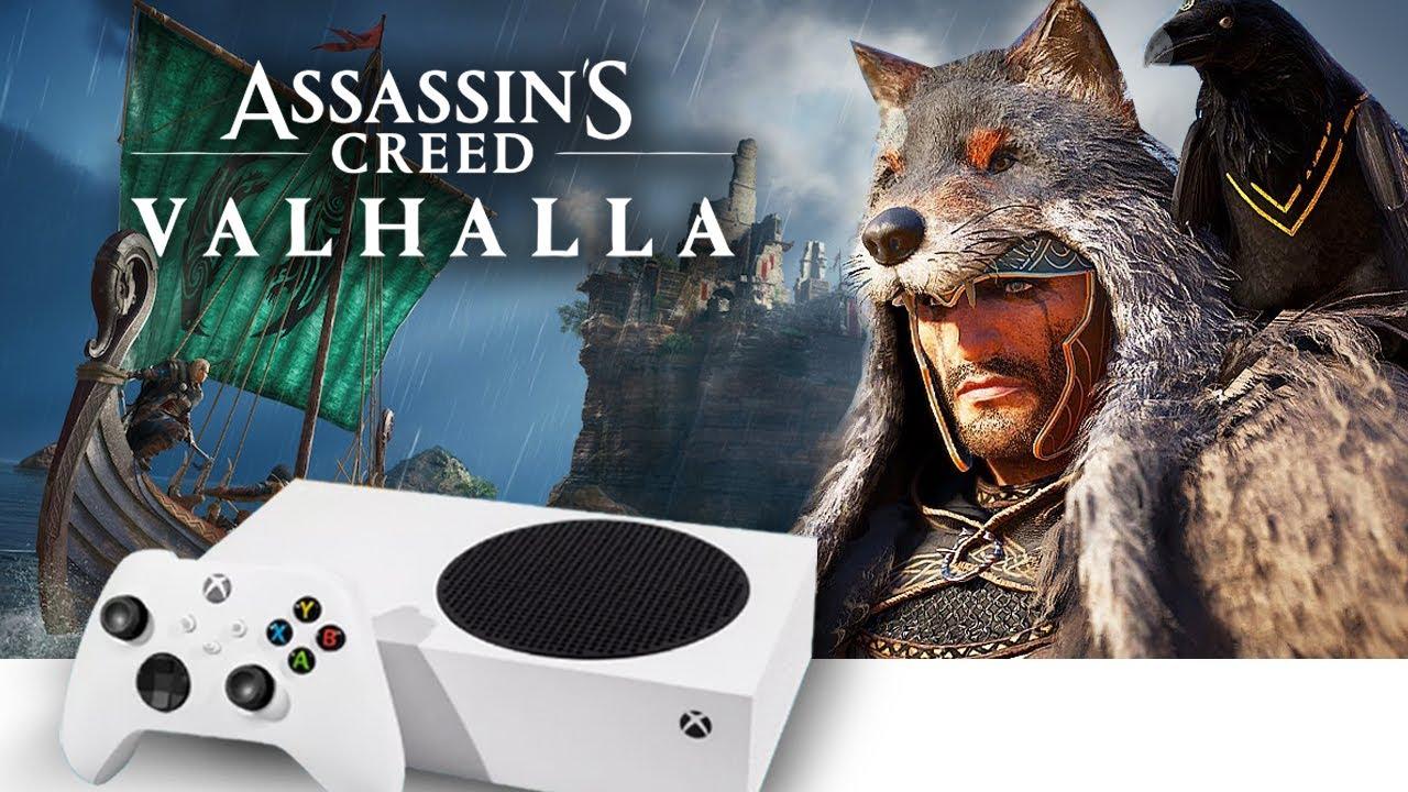 Xbox Series S | AC Valhalla | Explorando o Mapa | Armadura Werewolf