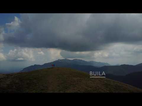 Varful Gerea - Muntii Capatanii - filmare cu drona in golul alpin