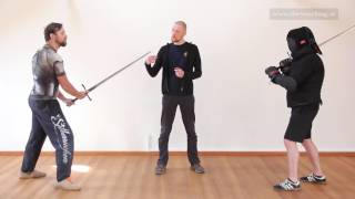 Learn Sword Fighting 13 - The Pflug (Plow)