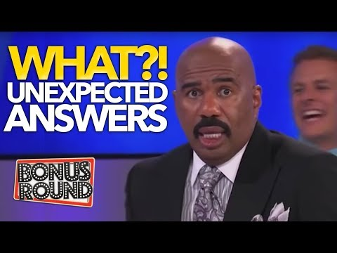 WHAT?!? UNEXPECTED ANSWERS