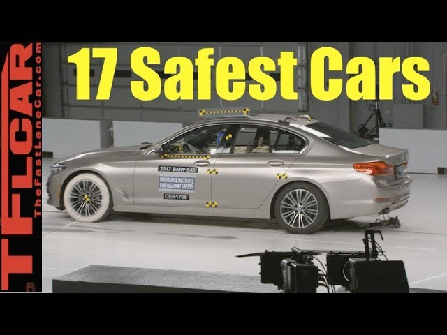 These Are The 17 Safest Cars You Can Buy Today!