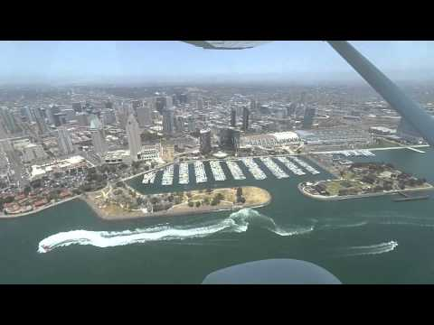 San Diego Bay Tour - Lindbergh Offshore Transition - Delta Taxiway Transition