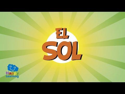 El Sol Videos Educativos Para Niños
