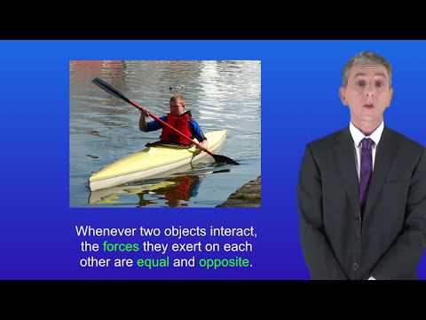 GCSE Science Physics (9-1) Newton's Third Law of Motion