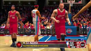 NBA 08 Games of The Week Cleveland Cavaliers vs Detroit Pistons
