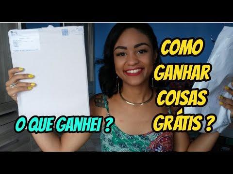 COMO GANHAR COISAS GRÁTIS NA INTERNET + RECEBIDOS