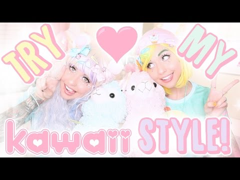 TRY MY STYLE: KAWAII EDITION ft. Poletti Twins