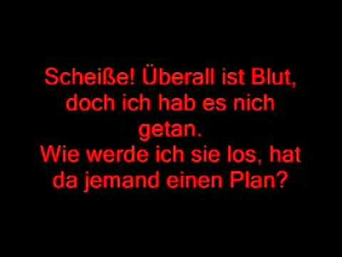 Sido feat. SDP -Scheiße in meinem Keller ligt ne Leiche lyrics.