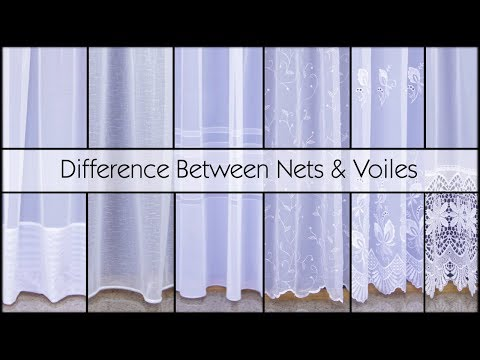 Difference Between Net Curtains and Voile - Woodyatt Curtains