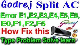 Ifb inverter ac indoor outdoor error code list