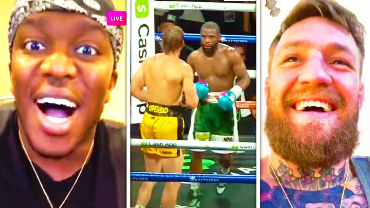 Celebrities React To Logan Paul VS Floyd Mayweather