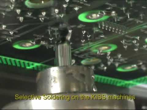 Ace Kiss 104 Selective Soldering Youtube