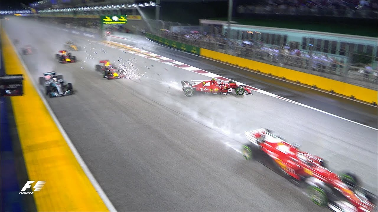 2017 Singapore Grand Prix: Race Highlights