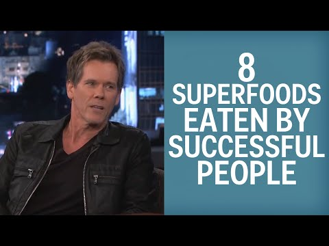 8 Superfoods Eaten By The Super Successful