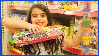 Rüya Buy Play Doh From The Toys Shop - Funny Kids Video