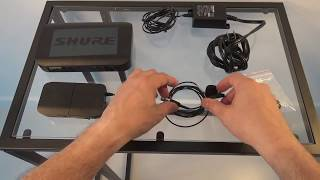 SHURE BLX 14/H10 CVL Wireless Lavalier Microphone Review and Demo - Recording Voice for YouTube