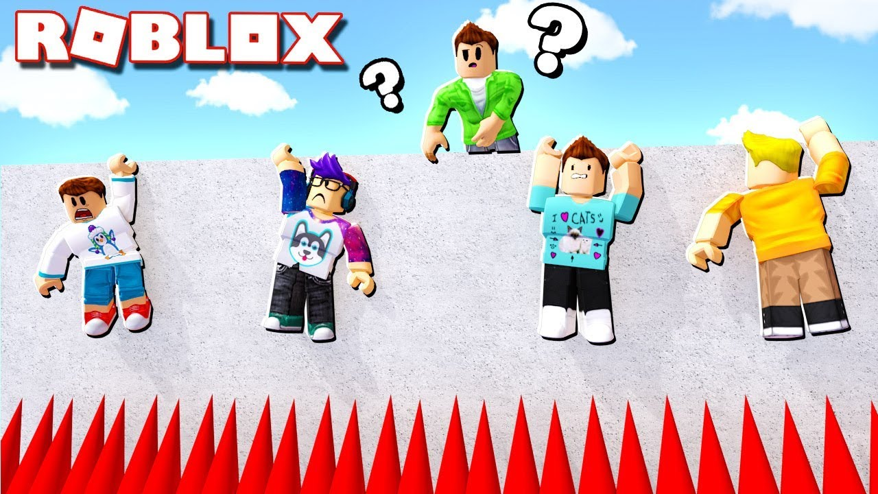 CHOOSE ONLY ONE PLAYER TO SAVE IN ROBLOX!