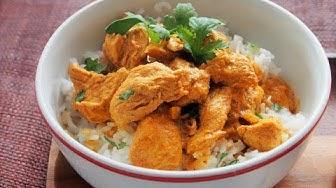 Peggyn pieni punainen keittiö - Chicken curry / kanacurry