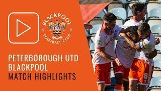 Highlights | Peterborough United 2 Blackpool 2