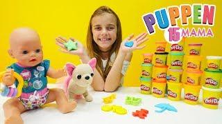 Puppen Mama 15 - Farben Lernen mit Ayça -  Video mit Puppen