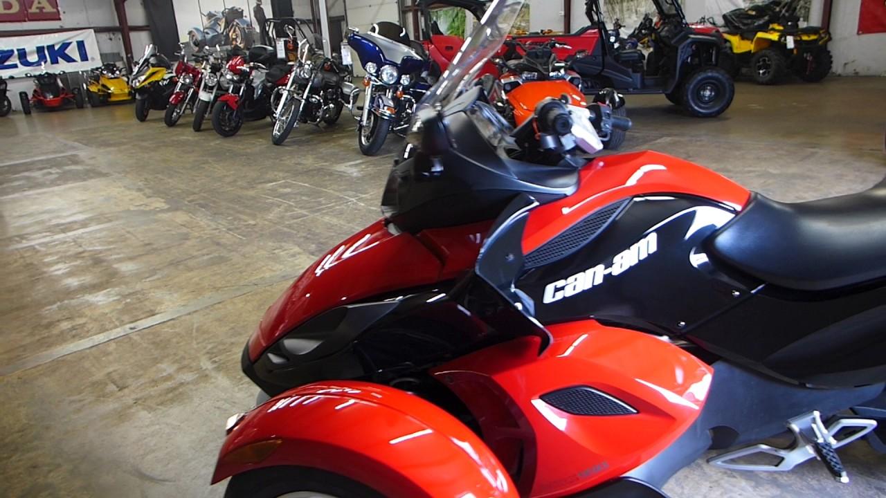 2009 can am spyder roadster se5