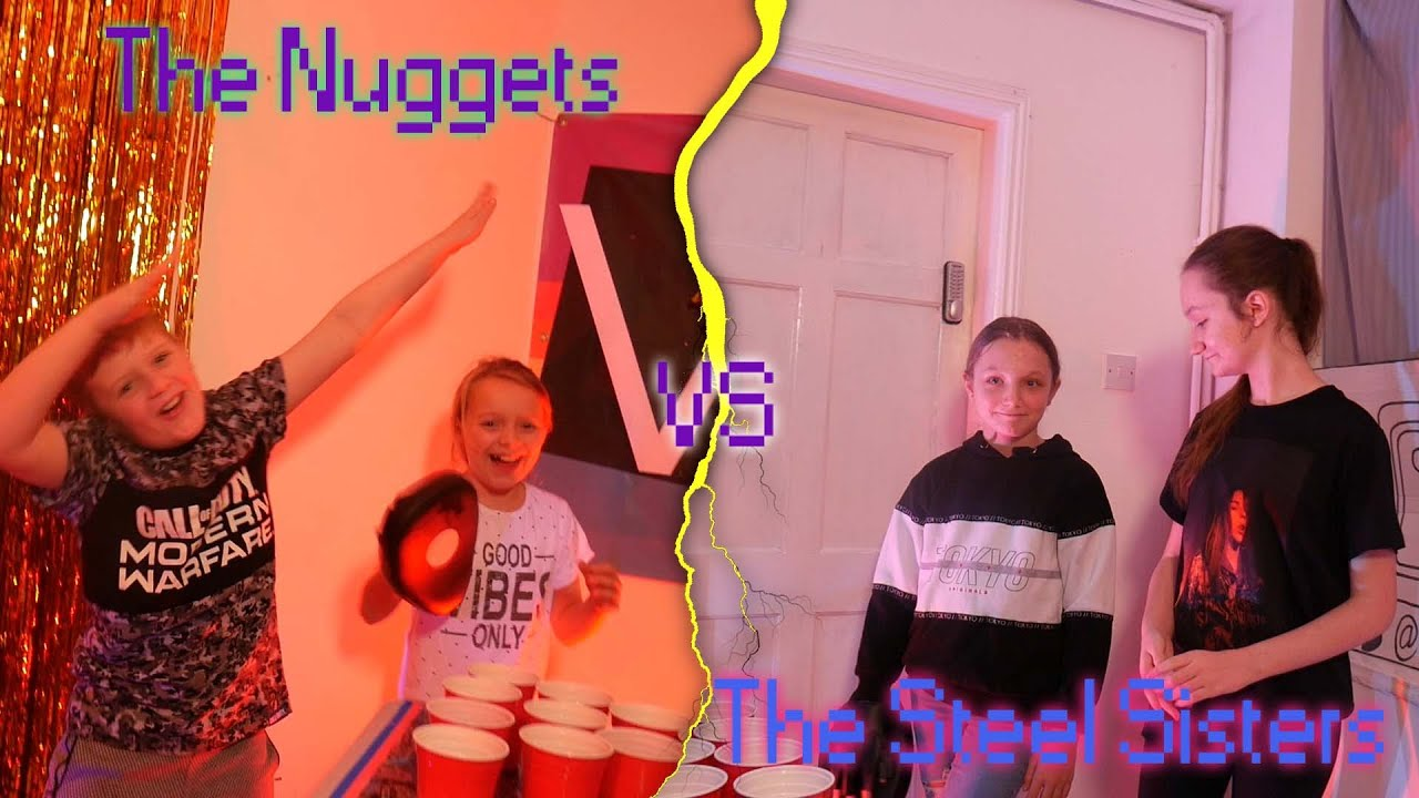 Quidditch Pong: The Nuggets vs The Steel Sisters [QPI:R1]