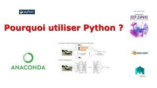 Pourquoi utiliser le langage Python ?