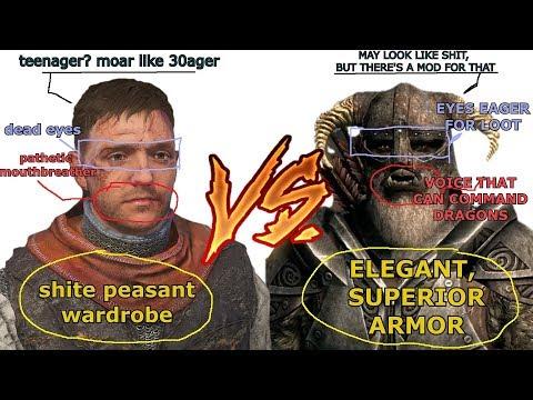 "The Virgin Henry versus The ""Chad"" Dovahkiin"