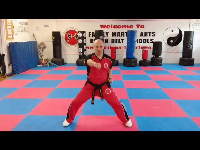 Learn Martial Arts | FMA |Mr Tandoh with something for the ninjas to practice.