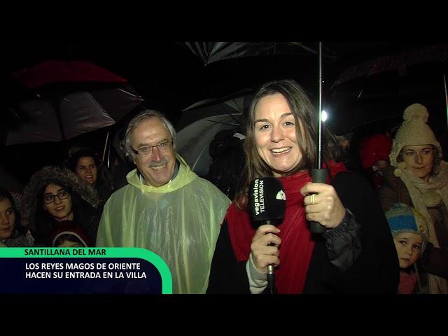 Cabalgata Santillana 2018 Entrada de los Magos en la Villa