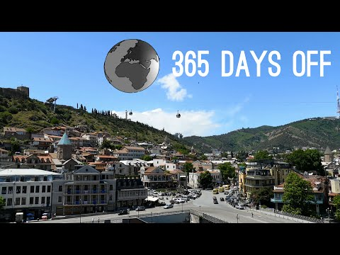 Episode 8 - Georgia - Tbilisi / 365 days off - Travel around