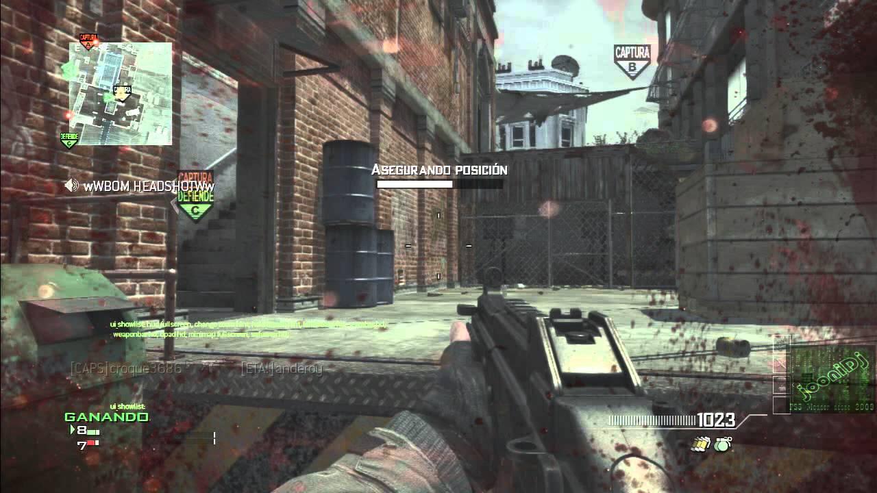 Mw3 XP lobby!! Con capturadora:)