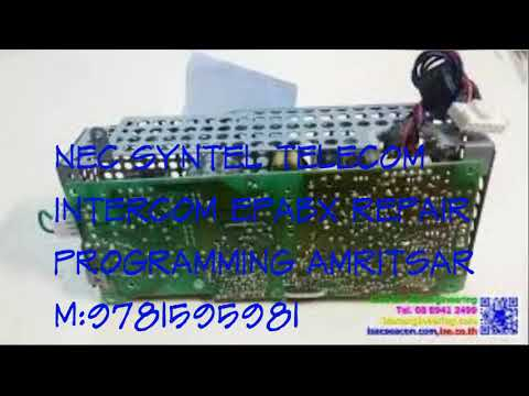NEC SYNTEL TELECOM INTERCOM EPABX PABX PBX REPAIR PROGRAMMING AMRITSAR M9781595981