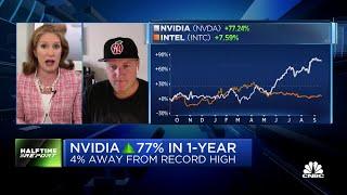 Josh Brown wins a burger bet: Intel vs Nvidia