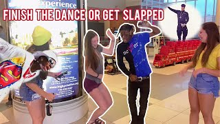 Finish The Dance Oŗ Get Punished 🤕🕺🏾Atlanta Mall Edition | Public Interview