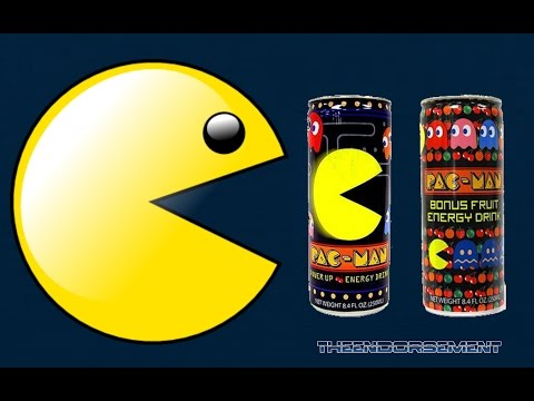 PAC MAN BONUS FRUIT ENERGY DRINK REVIEW #79