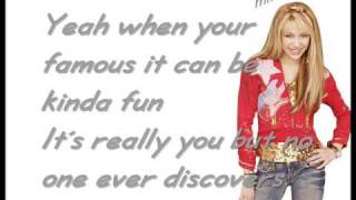 Hannah Montana - The best of both Worlds [wLyrics] HQ