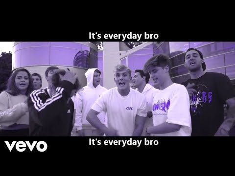 Jake Paul - It's Everyday Bro (Official KARAOKE Video) - Instrumental + Lyrics