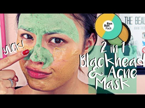 2-in-1 Blackhead & Acne Face Mask   Gram Double Chemi Ban Ban Pack Review