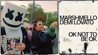 Download Lagu Marshmello Demi Lovato Ok Not To Be Ok Official Music Video  MP3