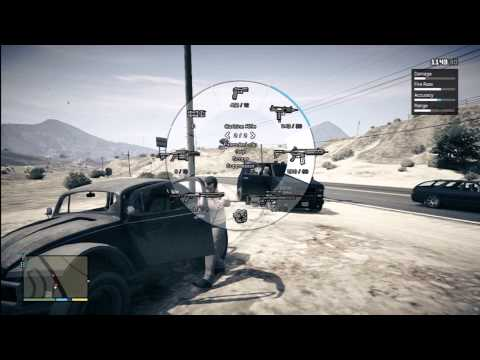 GTA V Random Events 13 Chasing Thieves Country 1-2