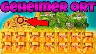 GEHEIMER ORT - Lootroute für SEASON 5! | (+20 Truhen) | Fortnite Battle Royale