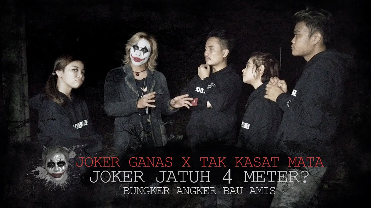 Tak Kasat Mata X Joker Ganas, Jatuh 4 Meter di Bungker Bau Darah #frisllyherlind #takkasatmata