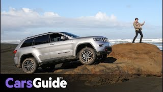 Jeep Grand Cherokee 2017 review: first drive video